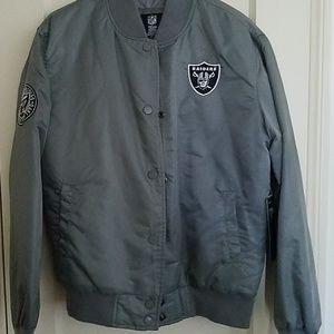 reputable site 8c2c0 1edf7 Forever21 Nfl Raiders jacket NWT